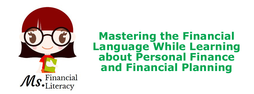financial language financial planning personal finance