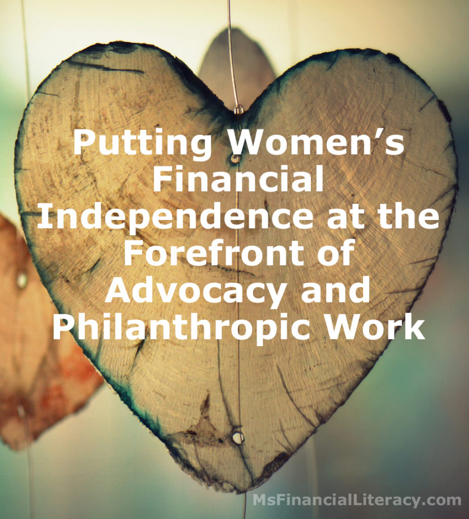 women financial independence financial security self-reliant