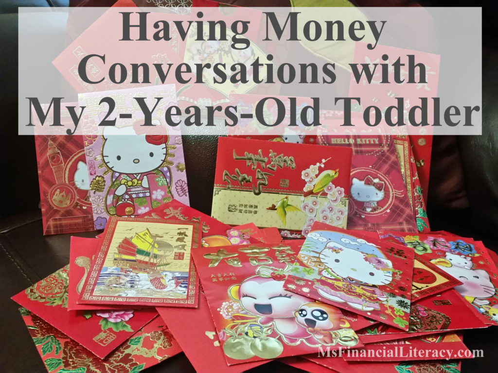 money talk with my toddler