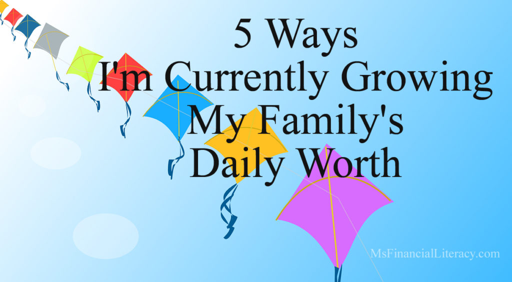 building wealth daily worth