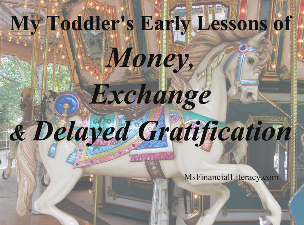 early money delayed gratification lessons