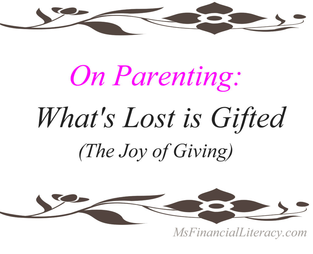 parenting and giving preschool