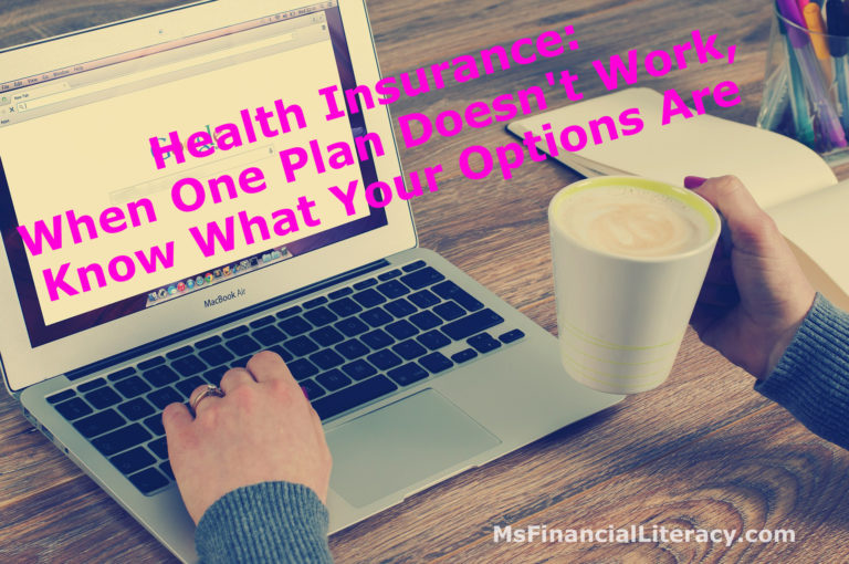Health Insurance: When One Plan Doesn't Work, Know What ...